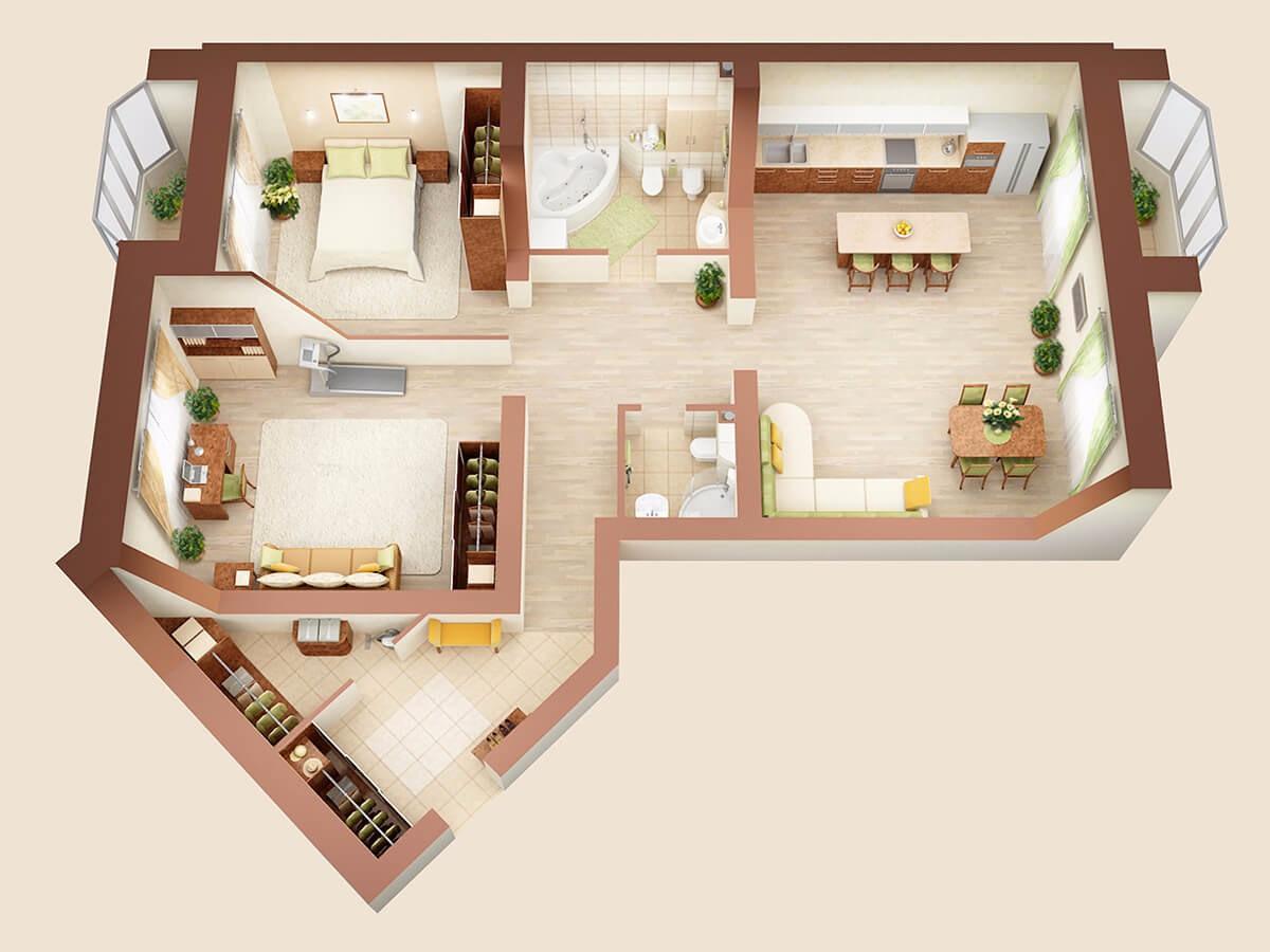3-комнатная квартира ВИП класса на ул. Михайловская 2