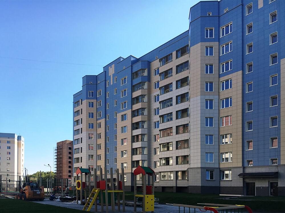 Досрочная сдача жилого дома № 5 в Кольцово - Строительная фирма Проспект